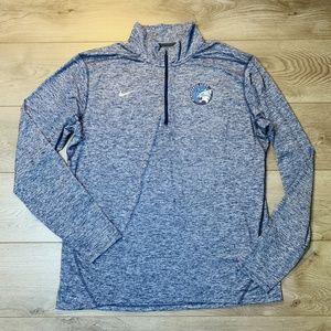 Nike MN LYNX Zip Front Mock Neck Jersey Shirt XL